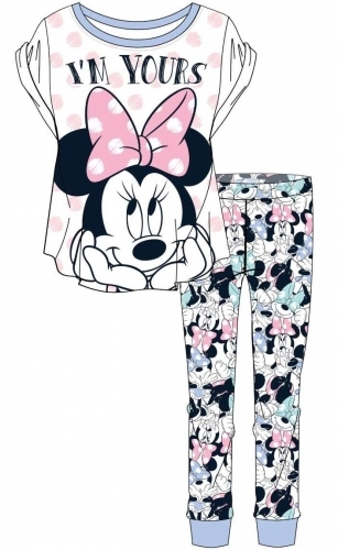 Disney: Minnie Mouse I'm Yours Womens Pyjama Set (20-22)