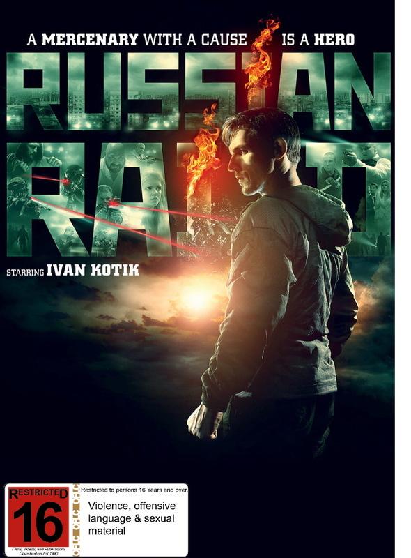 Russian Raid on DVD