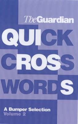 The Guardian Book of Quick Crosswords by Hugh Stephenson image