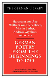 German Poetry from the Beginnings to 1750 image