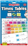 Magnetic Times Tables 1-12 with Magnetic Play