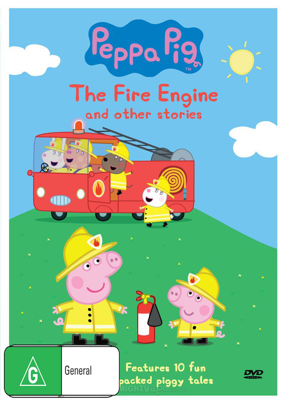 Peppa Pig: Fire Engine and other Stories on DVD