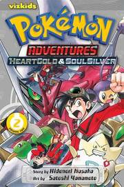 Pokemon Adventures: Heart Gold Soul Silver, Vol. 2 by Hidenori Kusaka