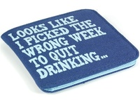 Wrong Week To Quit Drinking - Airplane Wallet