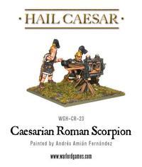 Hail Caesar: Caesarian Roman Scorpian