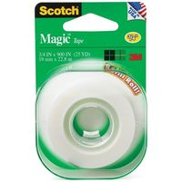 Scotch 205L Magic Tape Refill Roll 19mm x 22.8m
