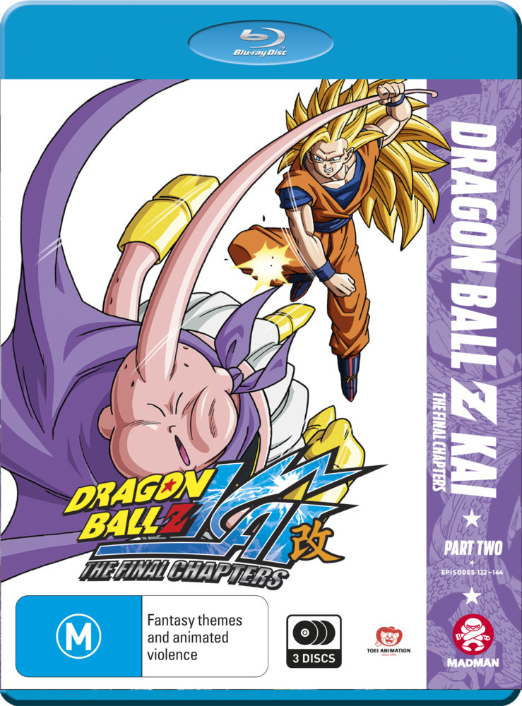 Dragon Ball Z Kai: The Final Chapters - Part 2 (Eps 24-47) on Blu-ray image