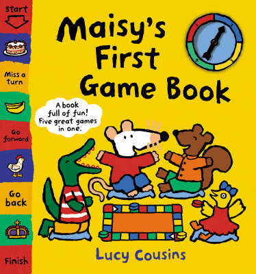 Maisy's First Game Book by Lucy Cousins