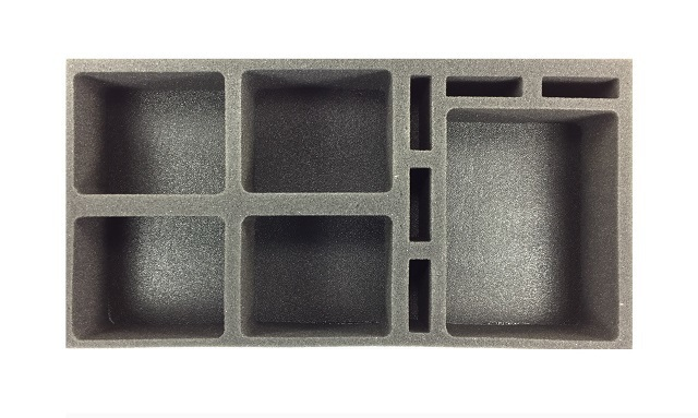 Battle Foam: Star Wars Generic - Medium & Large Ship Foam Tray (BFM-2.5) image