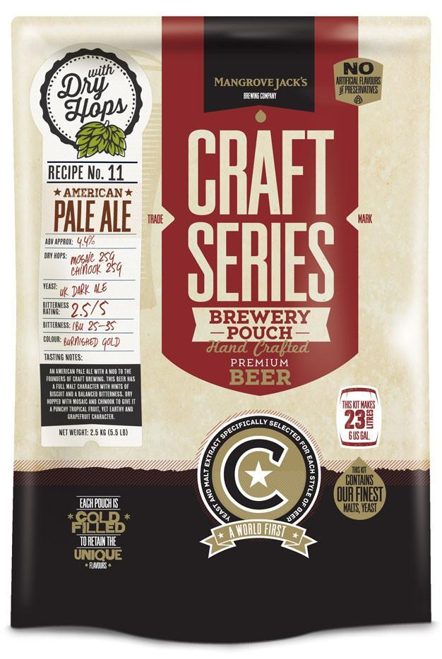 Mangrove Jack's: Craft Series - IPA With Dry Hops Pouch (2.2kg) image