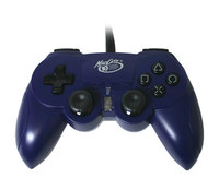 Mad Catz Hand Controller - Blue for PlayStation 2 image