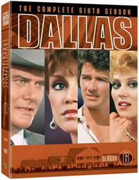 Dallas - The Complete Sixth Season (5 Disc Set) on DVD image