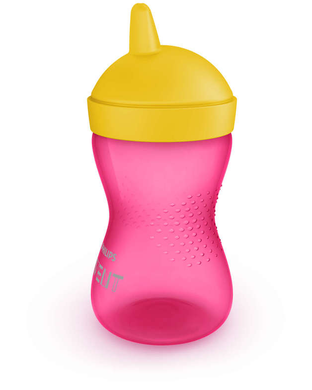 Avent Grippy Cup Hard - 300ml (Pink)