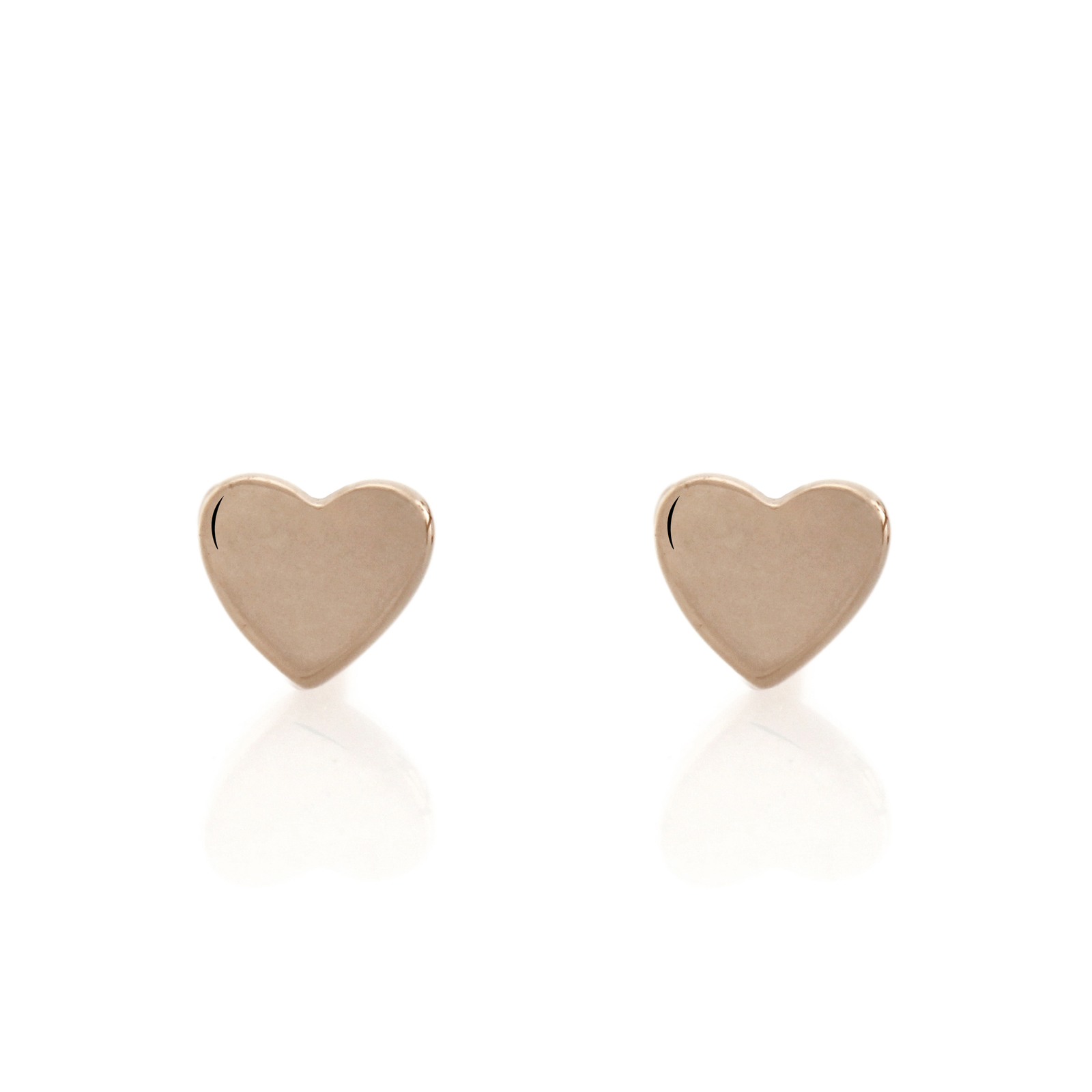 Bo + Bala: Love studs Rose Gold - Exclusive Style image