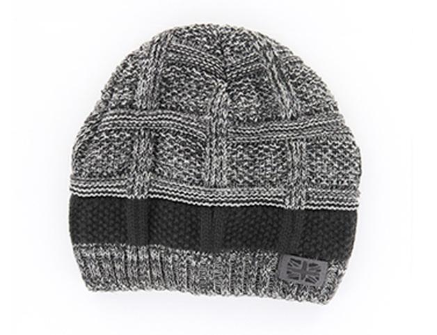 Frontier: Men's Knit Hat - Gray