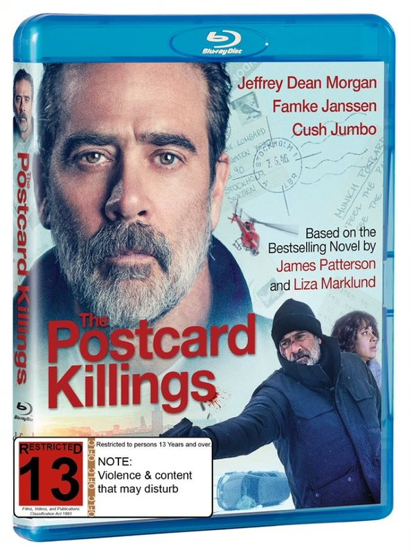 The Postcard Killings on Blu-ray