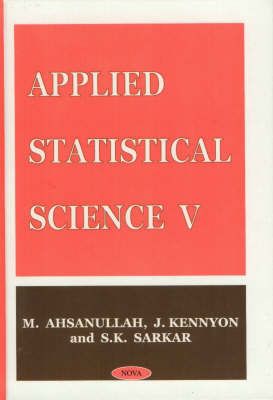 Applied Statistical Science V by M Ahsanullah image