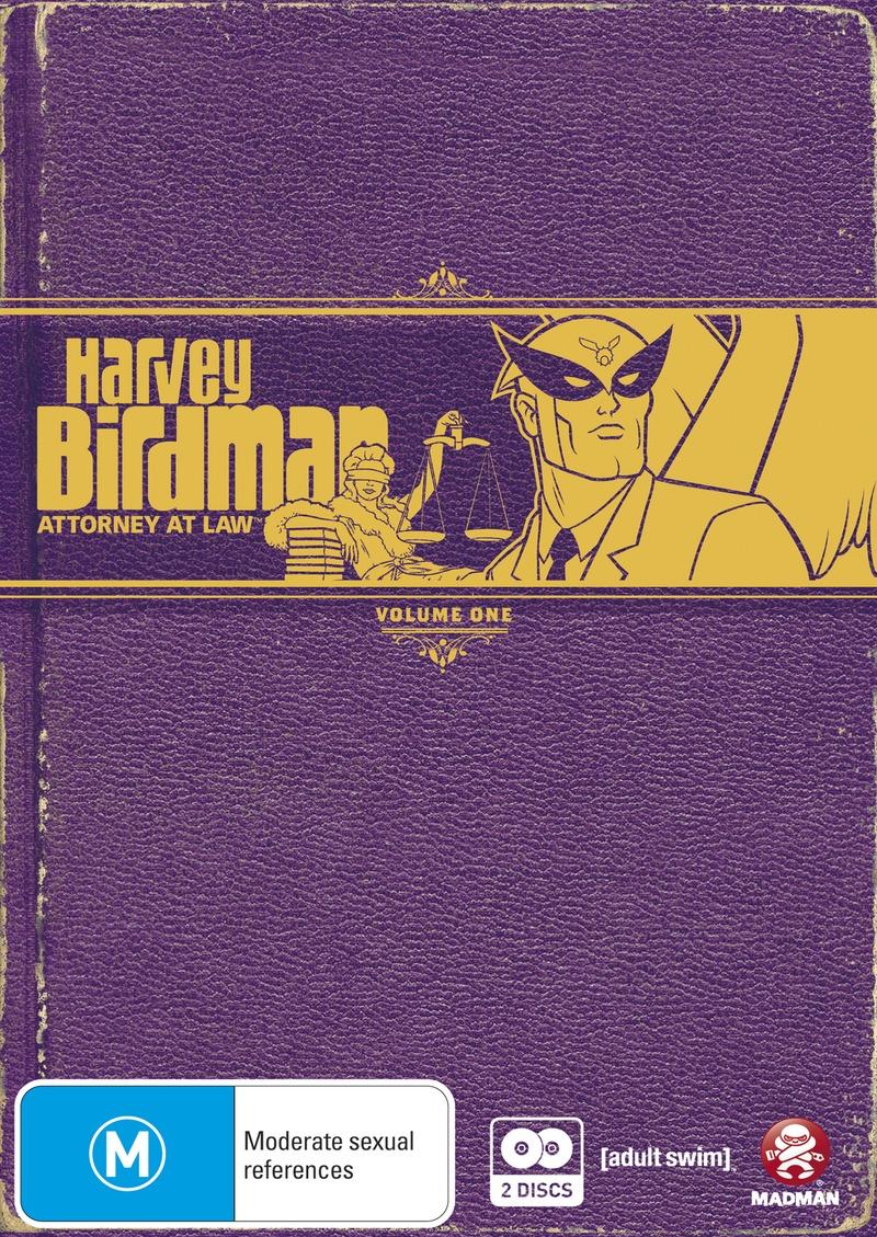 Harvey Birdman - Attorney At Law: Vol. 1 (2 Disc Set) on DVD image