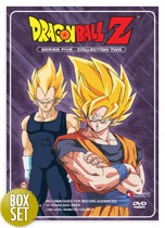 Dragon Ball Z Uncut Collection Series 5 Part 2 (Eps 262-290) on DVD