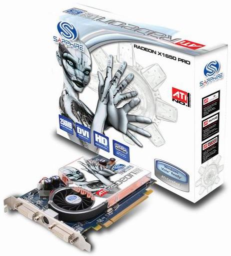 Sapphire Radeon X1650 PRO 512MB PCIE