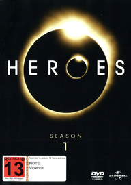 Heroes - Season 1 on DVD image