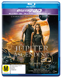 Jupiter Ascending on Blu-ray, 3D Blu-ray