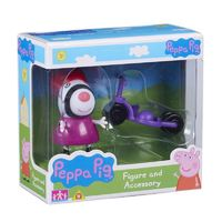 Peppa Pig: Figure and Accessory Pack - Zoe & Bike image