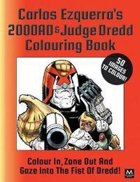 Carlos Ezquerra's 2000ad & Judge Dredd Colouring Book