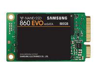 500GB Samsung 860 EVO V-NAND mSATA SSD SATA III 6GB/s, R/W(Max) 550MB/s/520MB/s