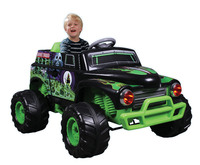 Monster Jam: 12V Motorised - Ride-On Grave Digger Truck