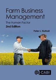 Farm Business Management by Peter Nuthall