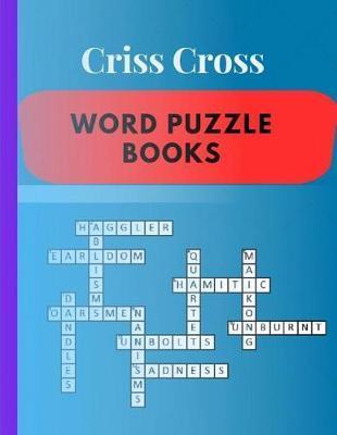 Criss Cross Word Puzzle Books by Samurel M Kardem
