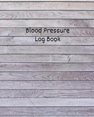 Blood Pressure Log Book by Wellness Journal