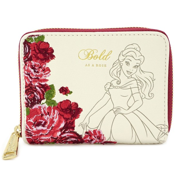 Loungefly: Beauty and the Beast - Bold as a Rose Zip Wallet