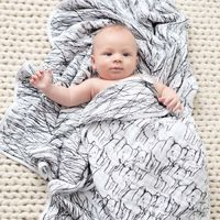 Aden + Anais: White Label Classic Dream Blanket - Sage Advice/Animals image