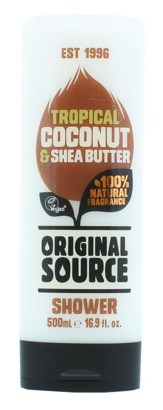 Original Source: Shower Gel Coconut & Shea Butter (500 ml)
