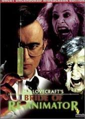 Bride Of Re-animator on DVD