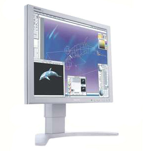 "Philips 19"" 190P7Es Silver LCD Monitor"