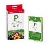 Canon EP50 Easy Photo Pack For ES1 Photo Printer 50 Pack of Ink & Paper