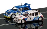 Scalextric: Classic Collection Peugeot 205 T16 E2 & MG Metro 6R4