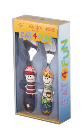 Eat4Fun Kiddos Cutlery Set (Sam & Ben)
