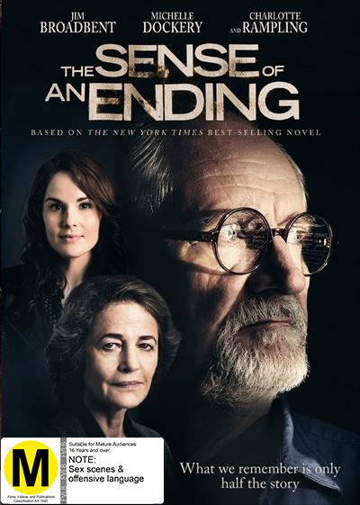 The Sense Of An Ending on DVD image