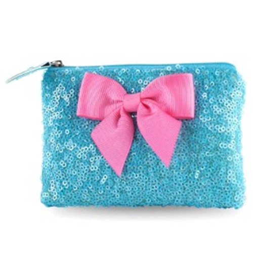 Pink Poppy: Forever Sparkle Coin Purse - (Blue) image