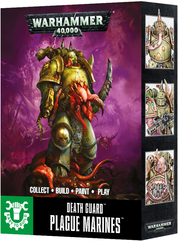 Warhammer 40,000 Easy to Build Plague Marines