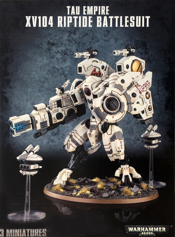 Warhammer 40,000 Tau Empire - XV104 Riptide Battlesuit