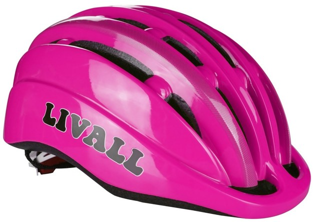 Livall: KS1 Smart Kids Helmet - Pink