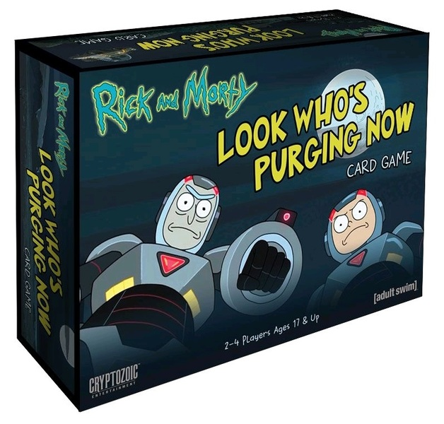 Rick and Morty: Look Who's Purging Now - Card Game