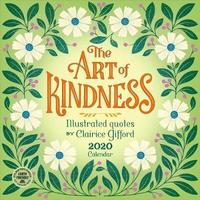 Art of Kindness 2020 Wall Calendar by Clairice Gifford image