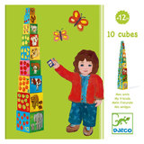 Djeco: 10 My Friends Stacking Blocks
