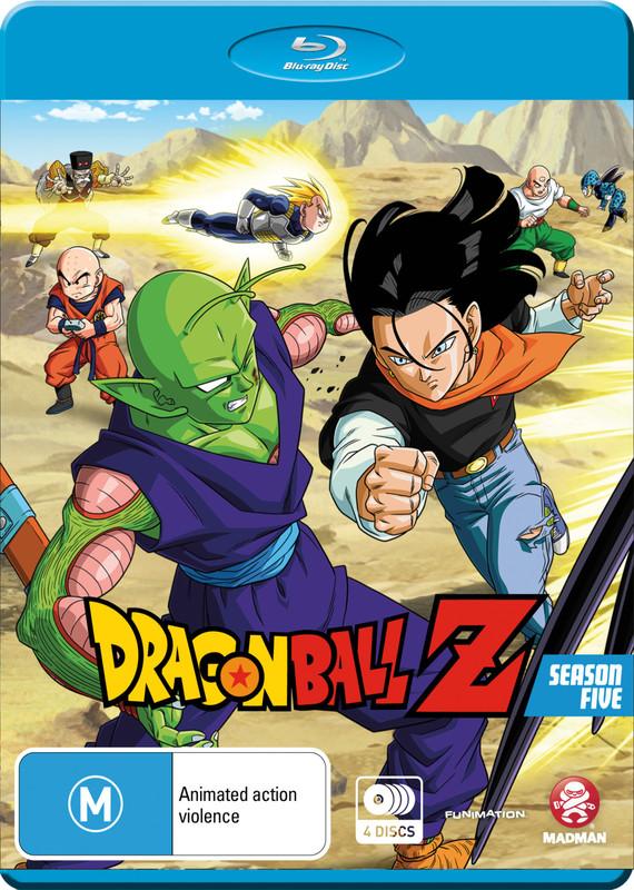 Dragon Ball Z - Season 5 on Blu-ray